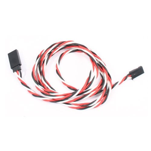 120Cm 22Awg Futaba Twisted Extension Wire ET0740