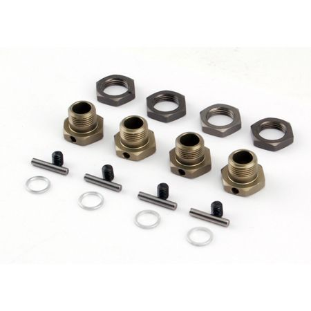 17mm Hex Adapter Set (4): LST2, LST 3XL Z-LOSB3516