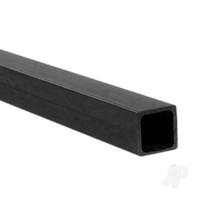 1m 8mm Carbon Fibre Square Tube, 7mm Wall