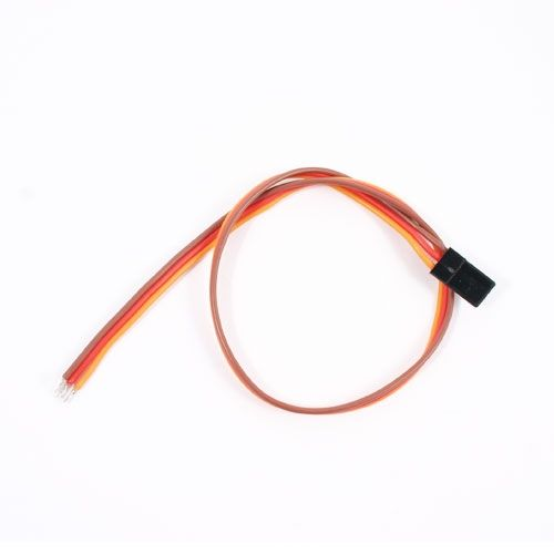 30Cm 22Awg Jr Straight Servo Wire ET0744