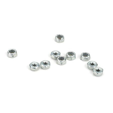 4-40 Steel Locking 1/2 Nuts (10) Z-LOSA6308