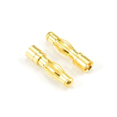 4.0Mm Male Gold Connector (2) ET0605