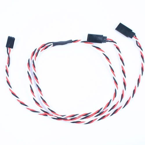 60Cm 22Awg Futaba Twisted Y Extension Wire ET0755