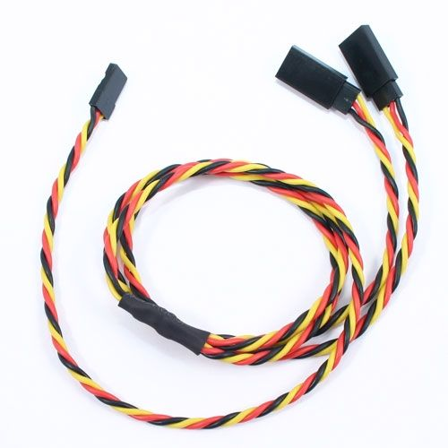 60Cm 22Awg Jr Twisted Y Extension Wire ET0756