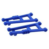 Blue Rear A-Arms For Traxxas Electric Stampede Or Rustler RPM80185