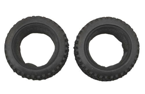 Buggy Front Tyres w/foams (2pcs)