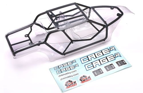 DHK Cage-R - Clear Body with Cage & Decals