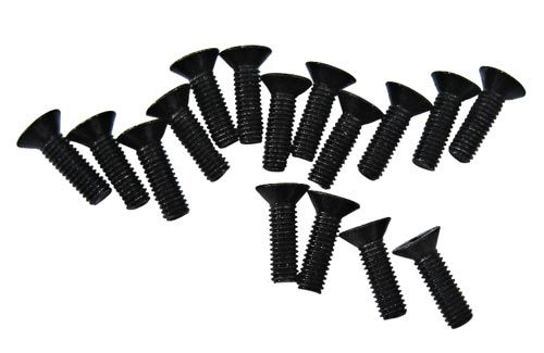 DHK Flathead Screw (3X10mm) (16 Pcs)