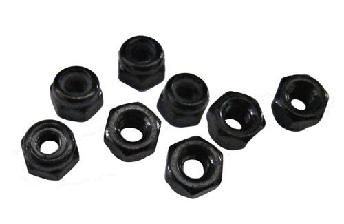 DHK M3 Nylon Nut (8 Pcs)