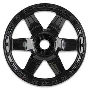 Desperado 3.8 Black 1/2 Offset Wheel (Traxxas Bead) 17Mm Hex PL2733-03