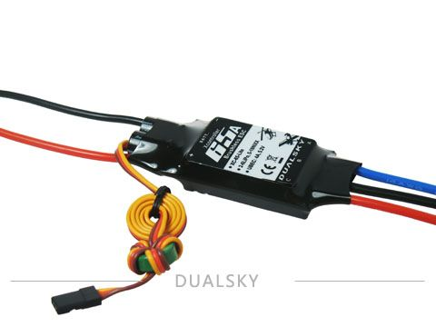 Dualsky Xc-65-Lite Brushless Esc 65A With 4A Switching Mode Bec
