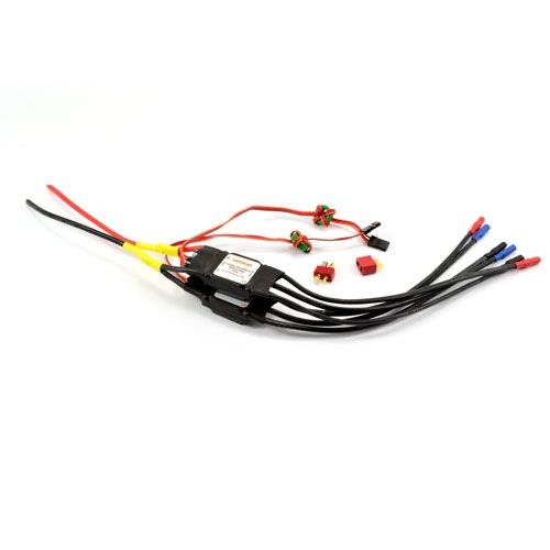 Dynam 40A Brushless Esc X 2 Twin Wired (Bf110) DYE-1004-40A-X-2