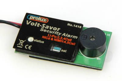 EnErG LiPo Low Voltage Alarm (Flash/Beep) 2-4 Cell 5509890