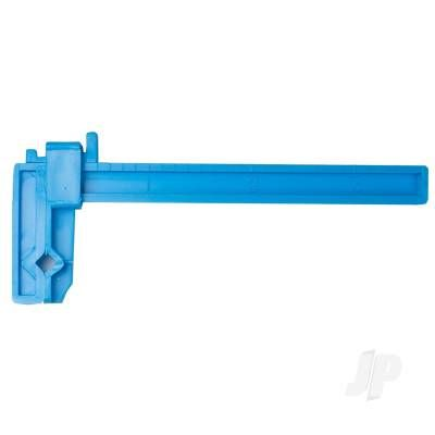 Excel 3in Adjustable Plastic Clamp (Carded) EXL55663