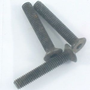 Flat Head Hex Screw M3*18 3Pcs FTX6539