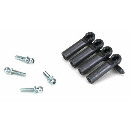 Heavy Duty Ball Studs & Rod Ends with Short Neck .345inch