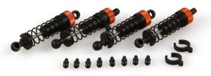 Helion Animus Front and Rear Shock Set with Ball Studs HLNA0012