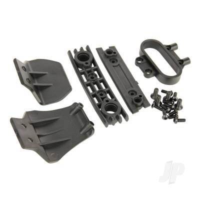 Helion Bumper Set, Front and Rear (Four 10TR) HLNS1219