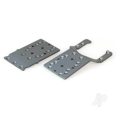 Helion Chassis Plates, Front and Rear (Dominus 10SC V2, Invictus) HLNA0281