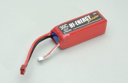 Hi-Energy hi-energy 4s 2700mah 30c li-Po-o-he4s1p270030a