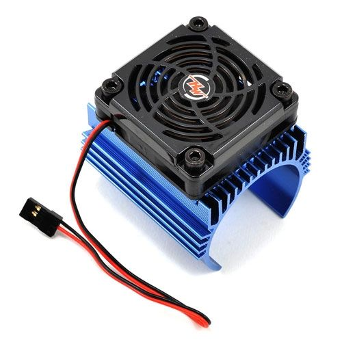 Hobbywing Fan Combo C4 (Heat Sink + 5V Fan) For 44Mm Motor HW86080130