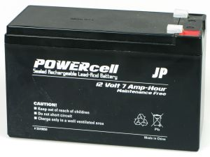 JP 12V-7 Ah Powercell Gel Battery 5510050