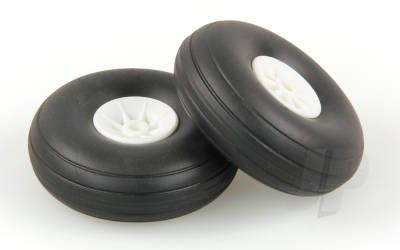 JP 2.0in - (50mm) White Wheels (2) 5507111