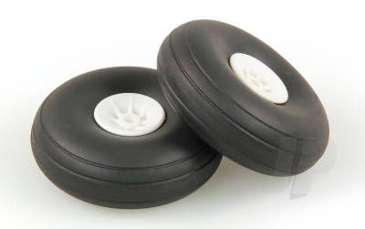 JP 2.1/4in - (56mm) White Wheels (2) 5507112