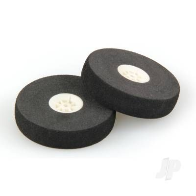 JP 40mm Sponge Wheel - White Centre (2) 5507004