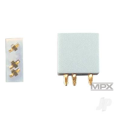 Multiplex 3-Pin Socket 5pcs (MULTIPLEX) 85221 MPX85221