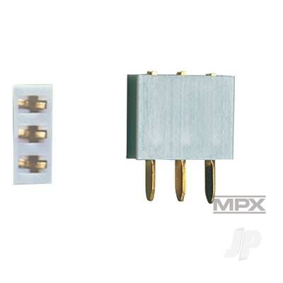 Multiplex 3-Pin Socket 5pcs (MULTIPLEX) 85225 MPX85225
