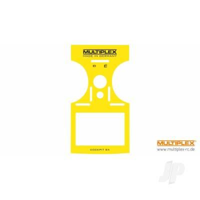 Multiplex Decal COCKPIT SX 7/9 Yellow MPX724404