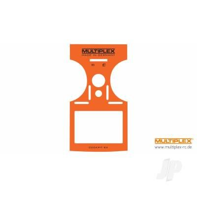 Multiplex Decal Sheet (Orange) COCKPIT SX 7/9 (724405) MPX724405