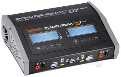 Multiplex Power Peak D7 400W Dual Charger AC/DC EQ-BID 25308129