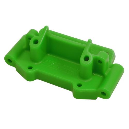 RPM Green Front Bulkhead For Traxxas 2Wd Vehicles RPM73754