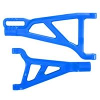 Revo/Summit Front Right Upper/Lower A-Arms Blue RPM80215