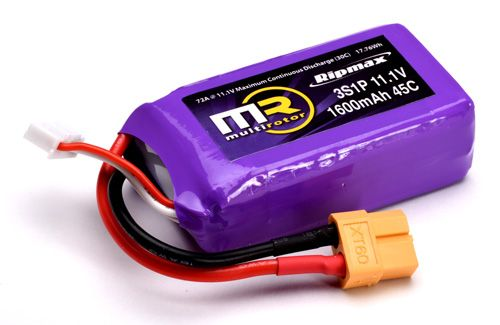 Ripmax Mr 3S 1600Mah 45C Li-Po With Xt60