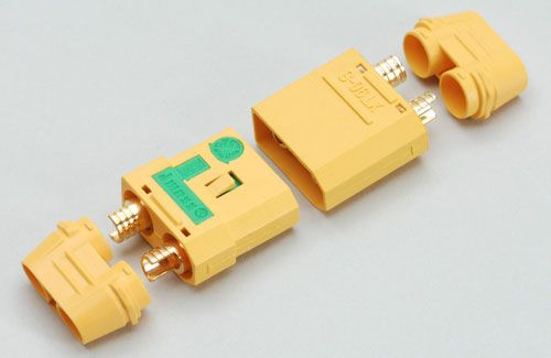 Ripmax Xt-90S Connector With Anti-Spark (1 Pair)
