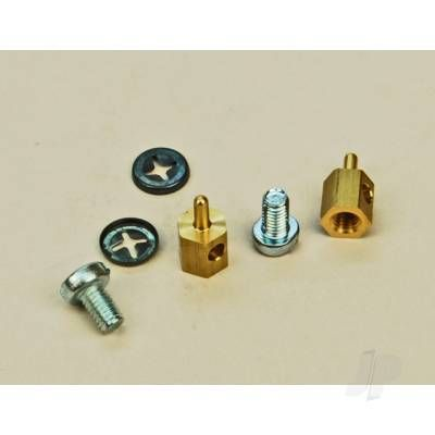 SLEC Sl63 P/Rod Connector Brass (2x10) 5509470