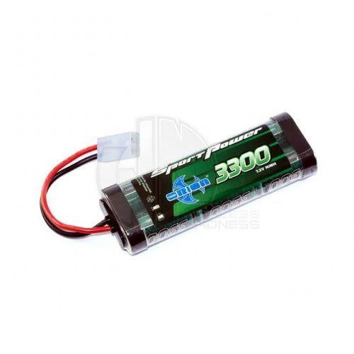 Team Orion Sport Power NiMh Battery Pack 3300mAh 7.2V with Tamiya Connector