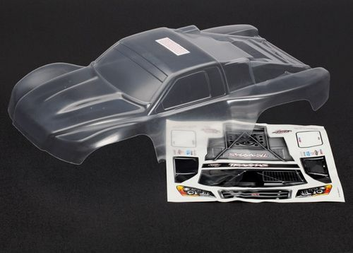 Traxxas Body, Slash 4X4 (clear, untrimmed, requires painting)/ windo