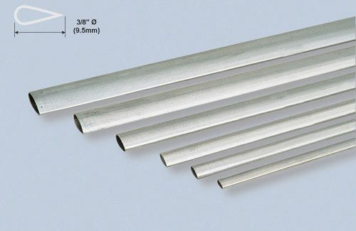 "Alu Stmline Tube 3/8x35""/9.52x889mm"