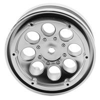Axial 1.9 8 Hole Beadlocks - Satin Chrome (2pcs)
