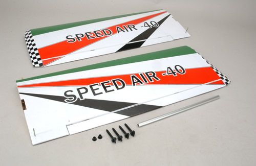 Black Horse Wing Set (Speed Air)