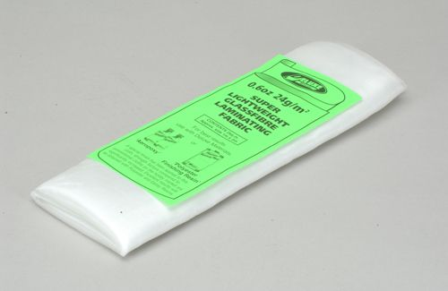 Deluxe Materials Super Lightweight Glassfibre Fabric - 24g/Sq.m (0.6 Oz/Sq.Yd). 2 mSqd