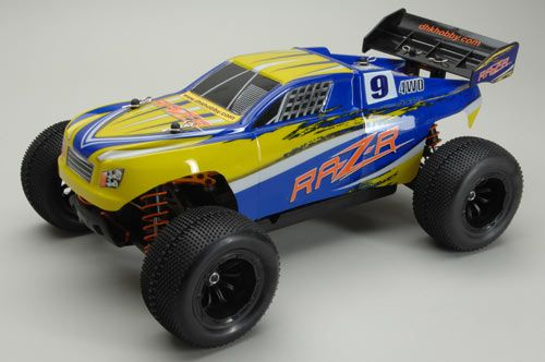 DHK RAZ-R Brushed 1/10th Scale  4WD RTR C-DHK8134