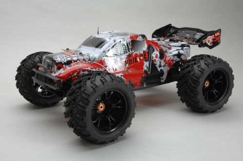 DHK Zombie 4WD 1/8th Scale EP Truggy RTR C-DHK8384R