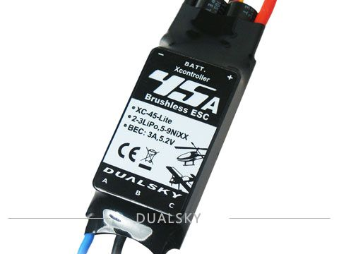 Dualsky XC-45-Lite Brushless Esc 45A