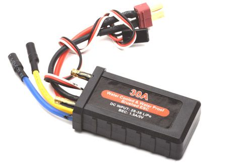 Joysway 30A Waterproof Brushed ESC with BEC