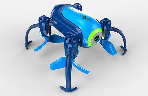 A-U36W-B Udi Piglet RTF - WiFi Mini Camera Drone (Blue)
